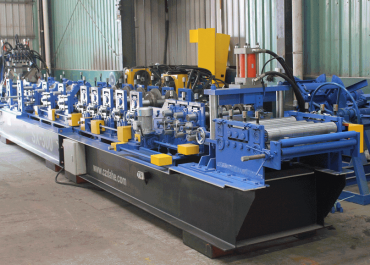 Post Punch Automatic C/Z Purlin Roll Forming Machine SF10