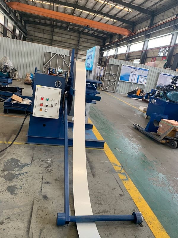75-160mm Size Changing Light Gauge Steel Framing Roll Forming Machine MF160