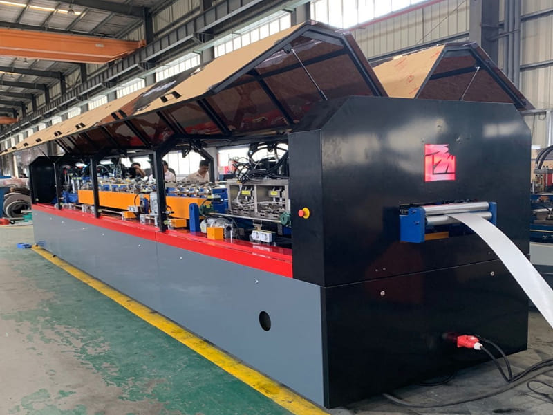 75-160mm Light Gauge Steel Framing Roll Forming Machine MF160