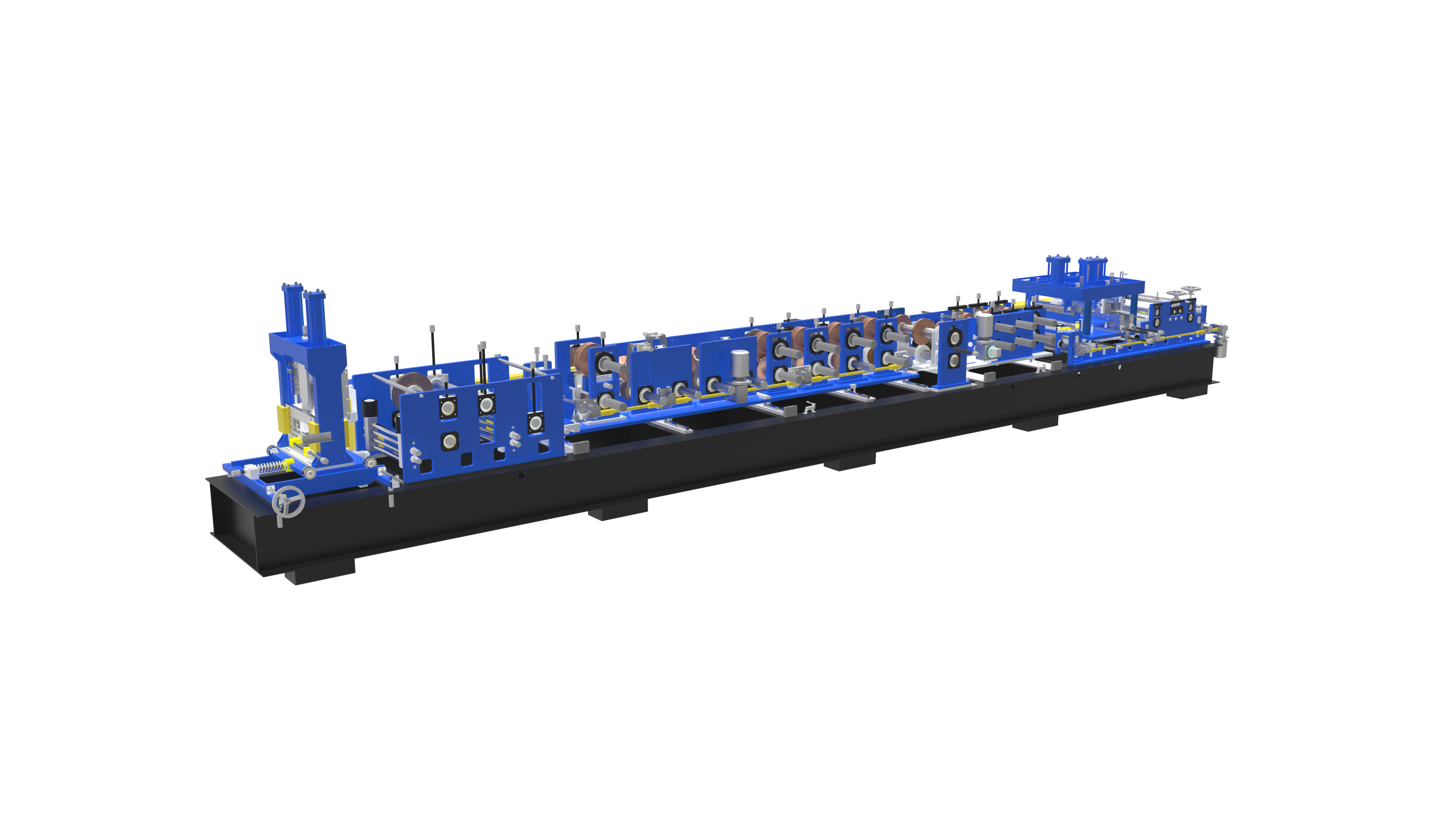 C Purlin Máquina formadora de rollos LS75-300