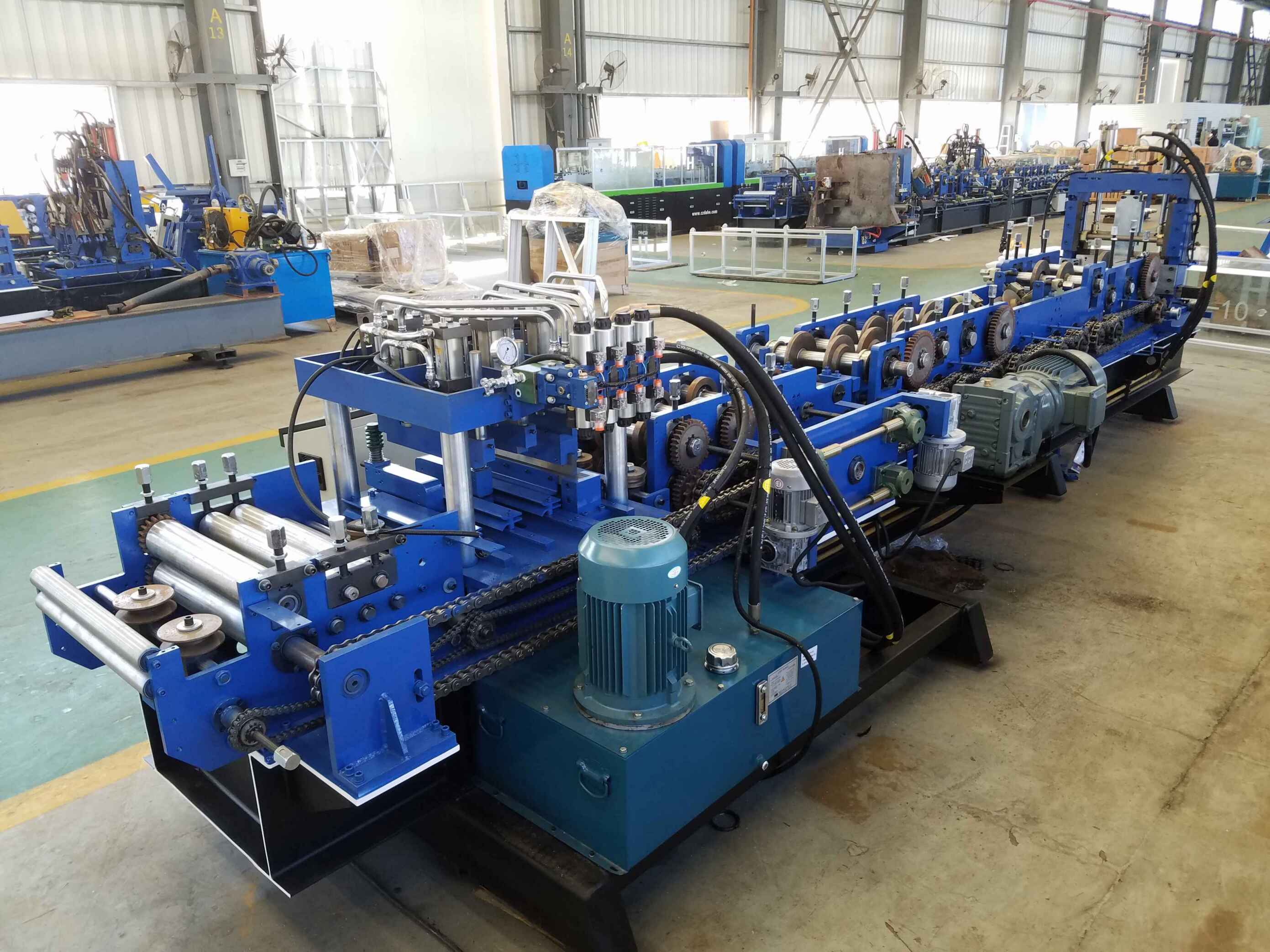 CU Purlin Roll Forming Machine MC250