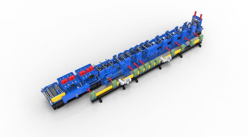 Automatic C/Z Purlin Roll Forming Machine FL450