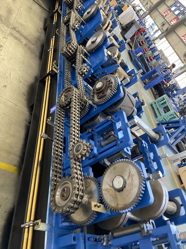 Pre Punch Automatic C/Z Purlin Roll Forming Machine SX20