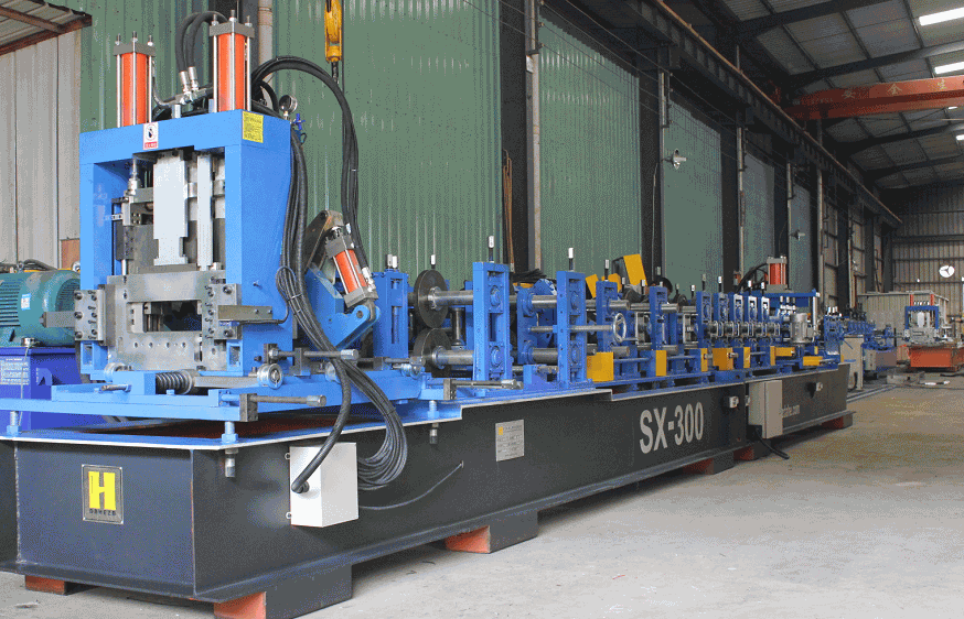 Post Punch Automatic C/Z Purlin Roll Forming Machine SX10